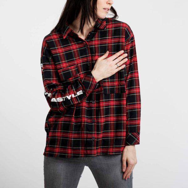 Bershka női kockás ing.