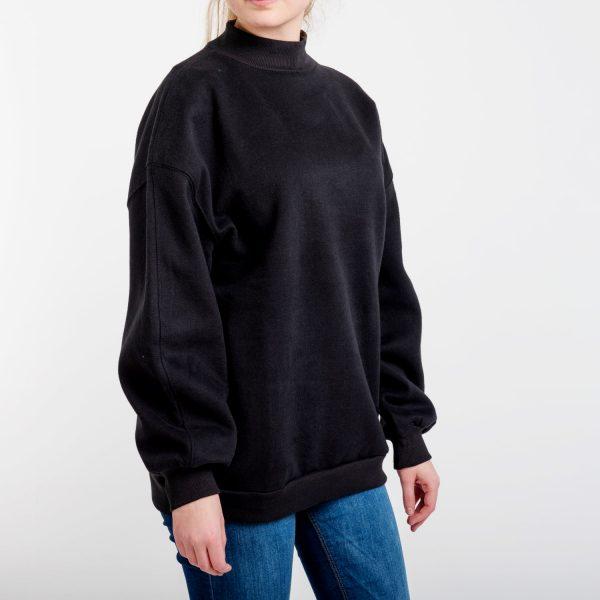 Bershka női fekete pulóver.
