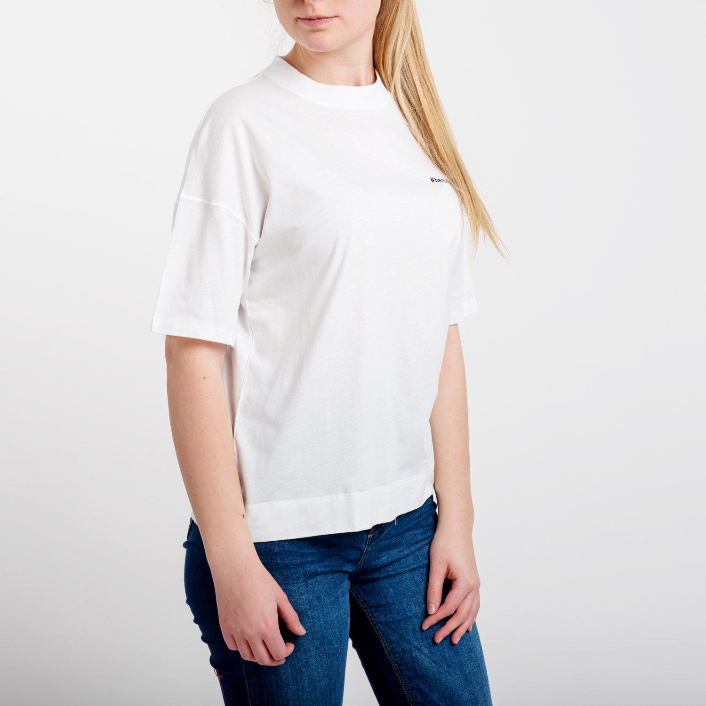Bershka női fehér poló.