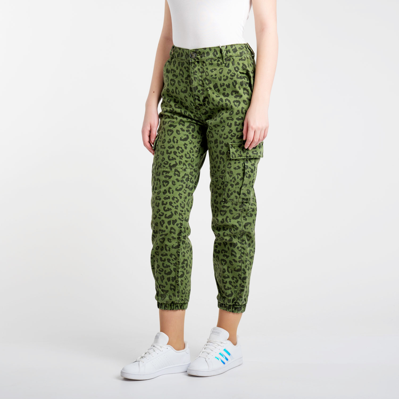 Bershka zöld CARGO nadrág