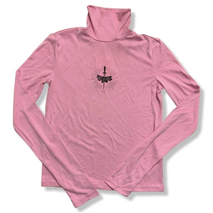 Bershka rózsaszín felső