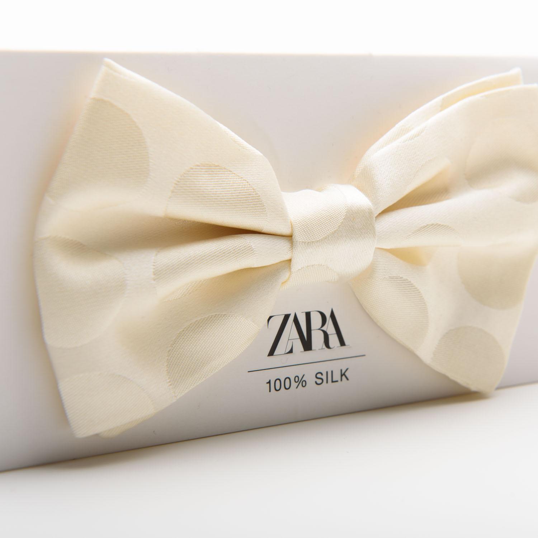 Zara man fehér csokornyakkendő