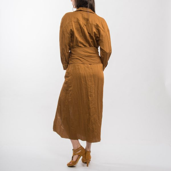 Zara aranybarna ruha