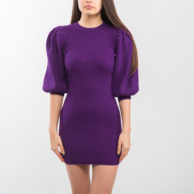Zara lila bordás ruha