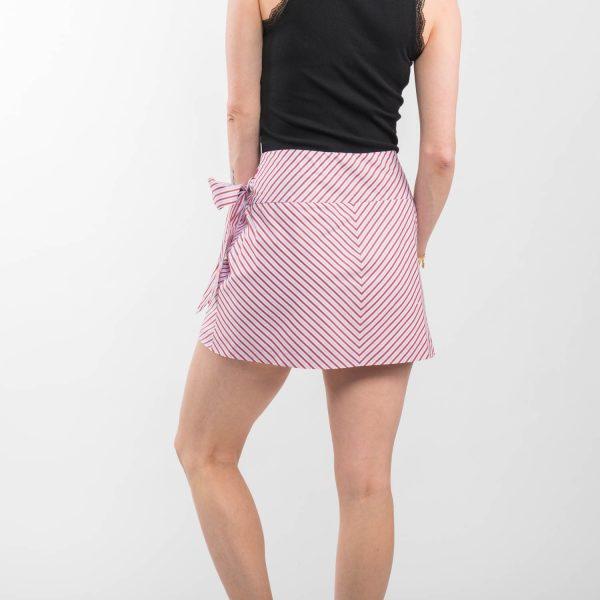 Zara hajtogatott csíkos szoknya