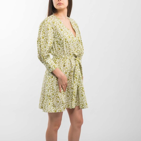Zara virágmintás ruha