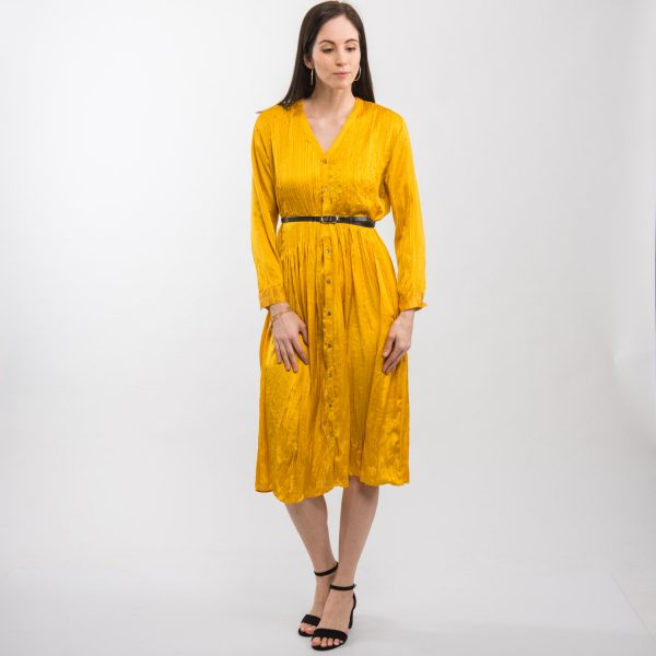 Zara napsárga ruha
