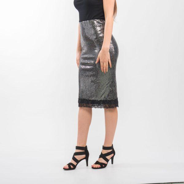 Zara flitteres hosszú szoknya