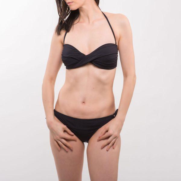 Sea csavart fekete bikini