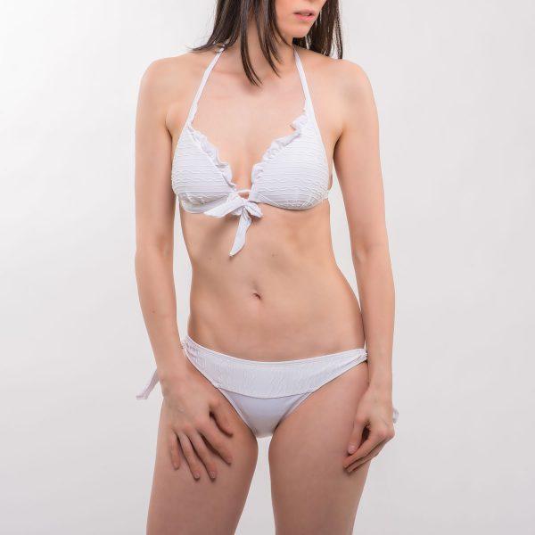 Sea fodros háromszög bikini