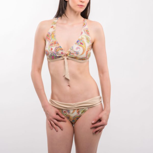 Sea 'Sea amőba mintás háromszög bikini' sötét szürke bikini