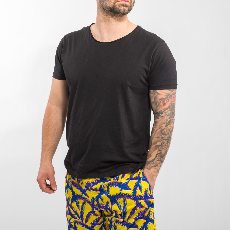CUBUS fekete basic póló