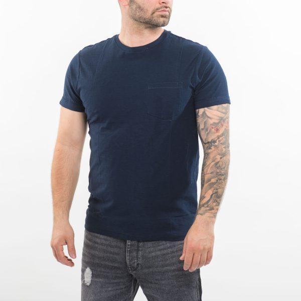Pull&Bear sötétkék póló