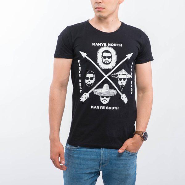 CARLINGS fekete póló
