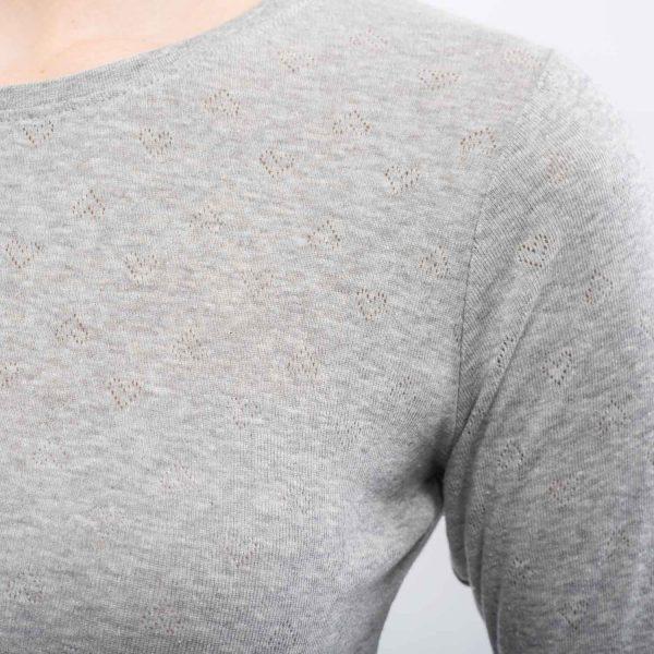 CUBUS szürke szívecskés póló
