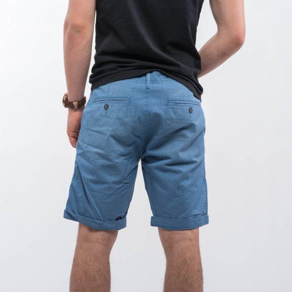 CUBUS kockás rövidnadrág