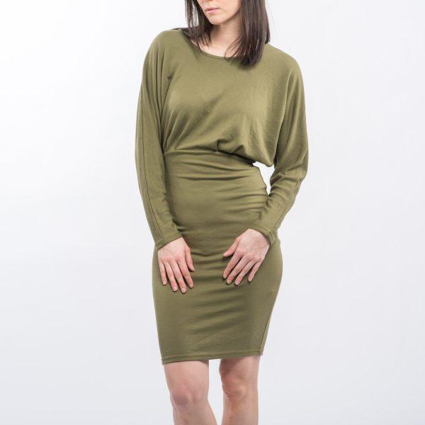 Cubus olajzöld ruha