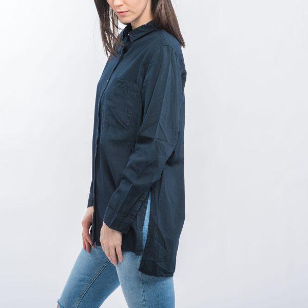 CUBUS sötétkék hosszított ing