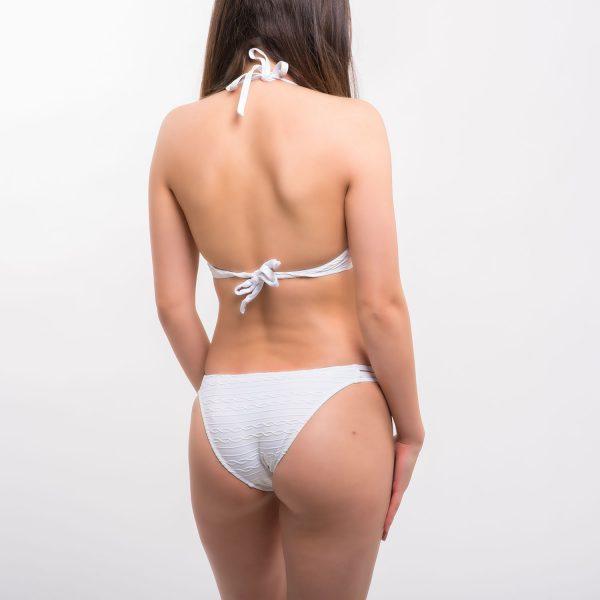 Sea fehér bordás bikini
