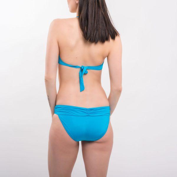 Sea csavart kék bikini