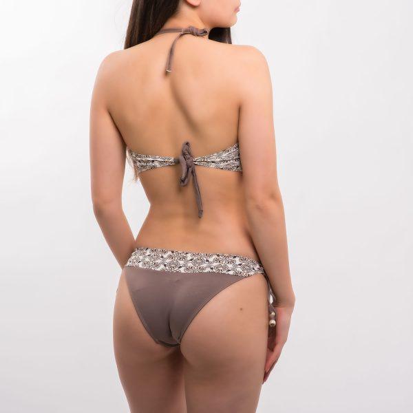 Sea barna mintás bikini