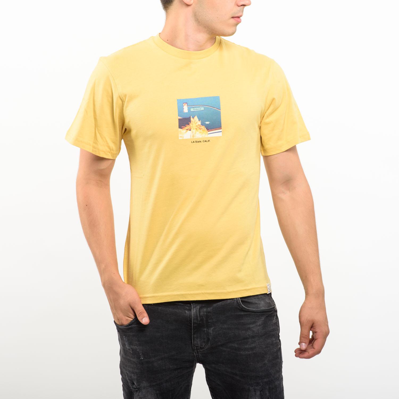 Pull&Bear sárga poló