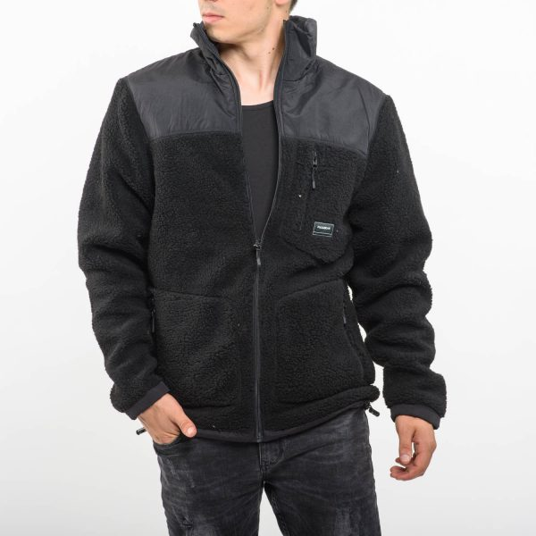 Pull&Bear fekete kabát