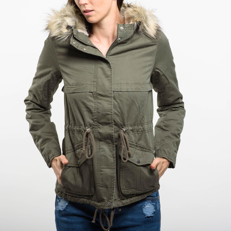 H&M zöld kabát
