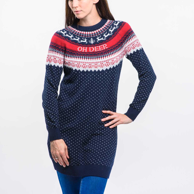 H&M rénszarvasos pulóver