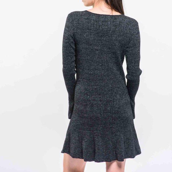 H&M fekete elegáns ruha