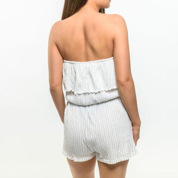 Pull&Bear fehér csíkos nyári ruha