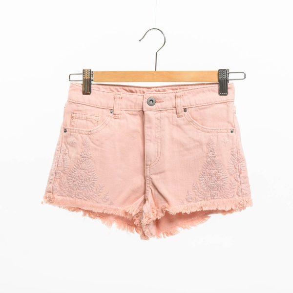 H&M rózsaszín farmer rövidnadrág