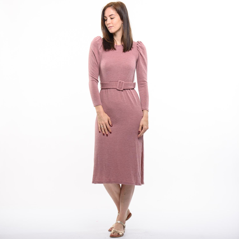 Bershka mályva színű ruha