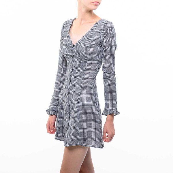 H&M kockás ruha