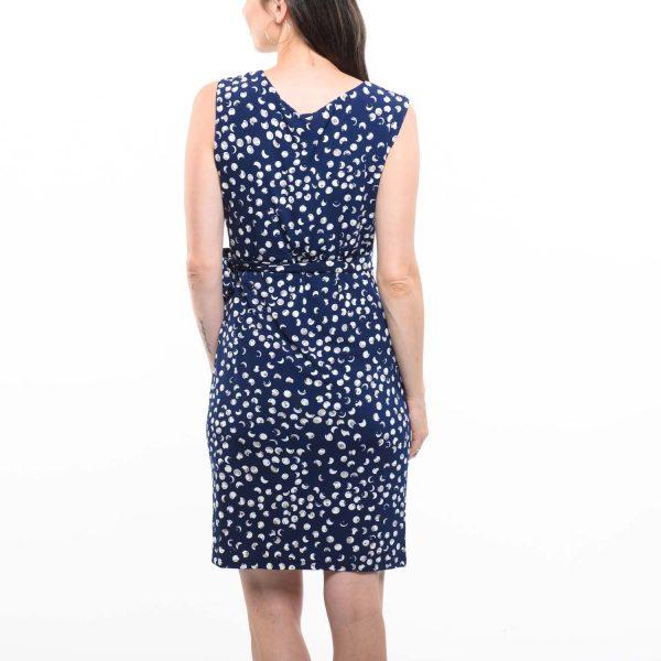 Smashed Lemon kék elegáns ruha