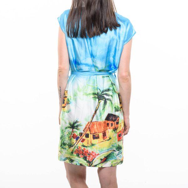 Smashed Lemon mintás nyári ruha