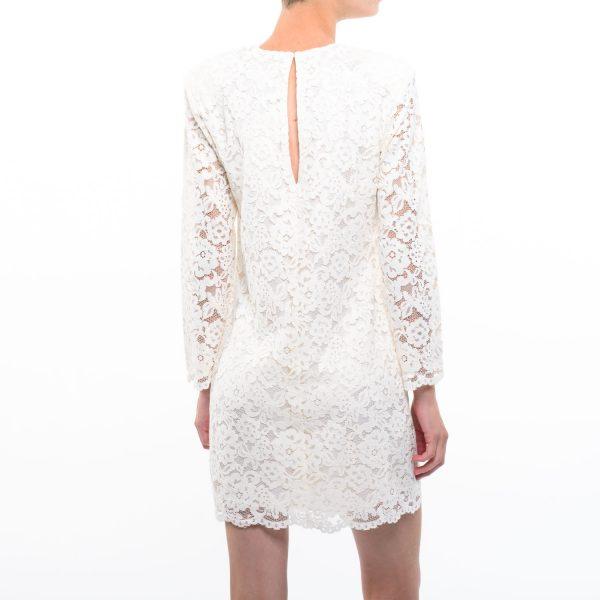 H&M csipkés fehér ruha