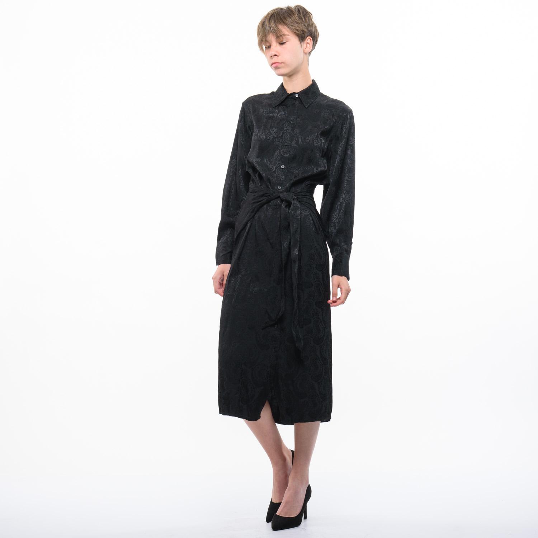 H&M női elegáns fekete ruha