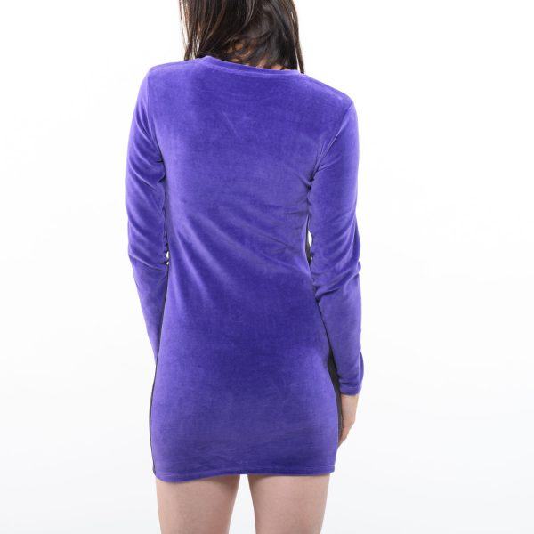 Bershka női lila ruha