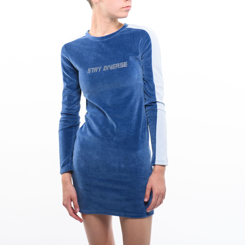 Bershka női kék ruha