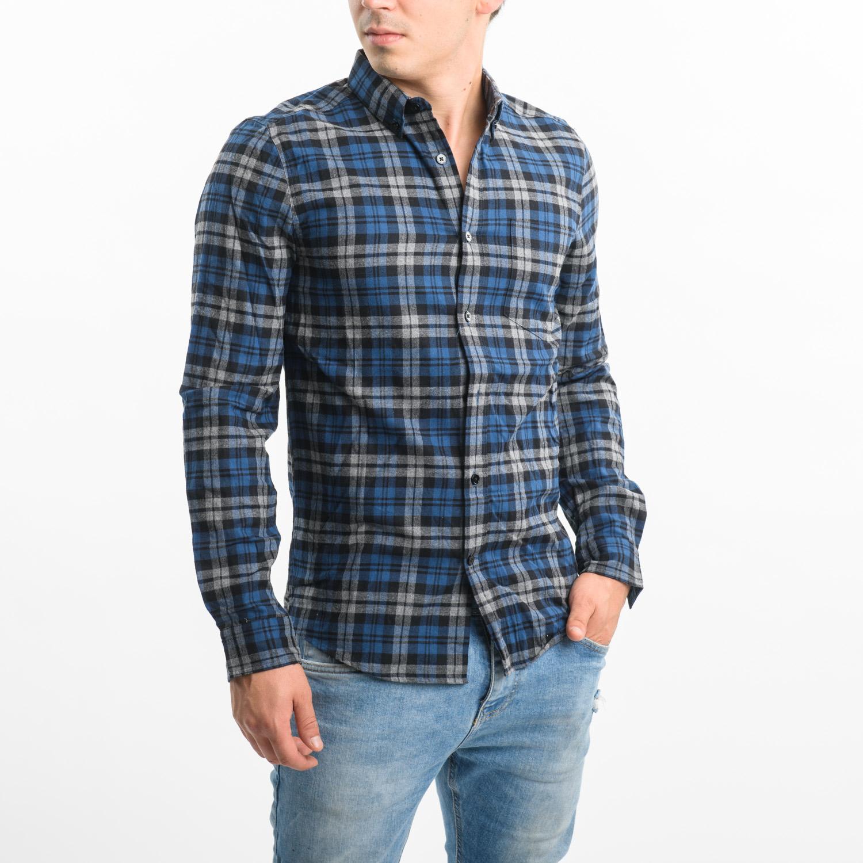 VAILENT férfi kockás ing