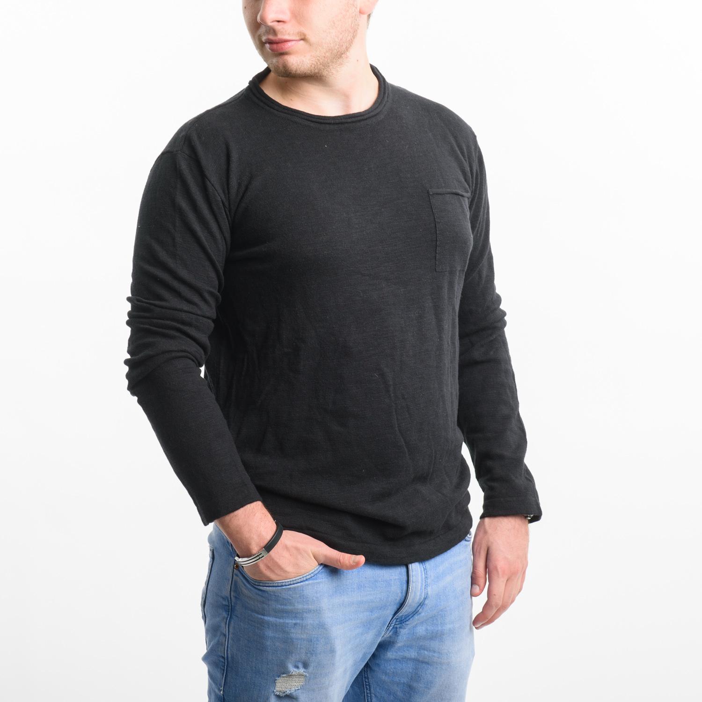 WINWIN fekete pulóver