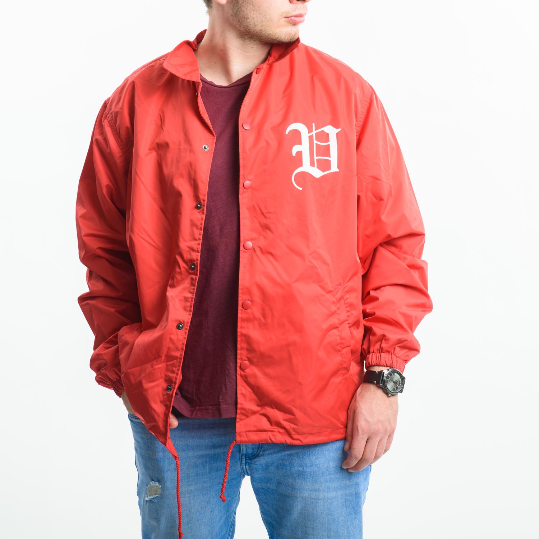 VAILENT piros bomber dzseki